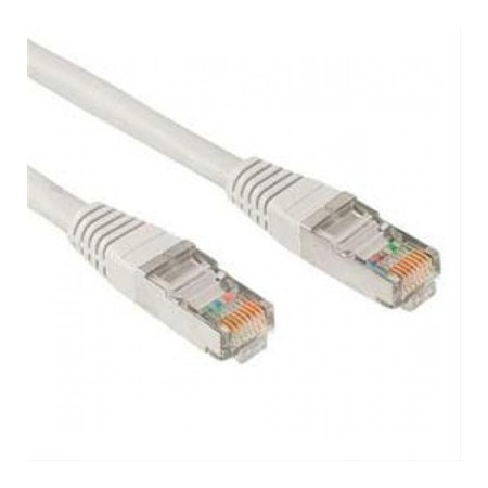 CABLE RED LATIGUILLO RJ45 CAT.5E UTP AWG24·0.5M GRIS NANOCABLE