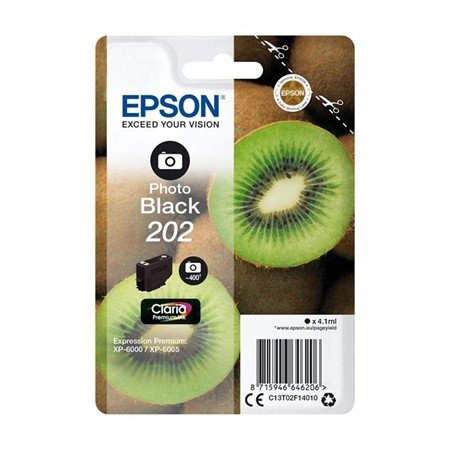 TINTA EPSON 202 PHOTO BLACK 4.1ML